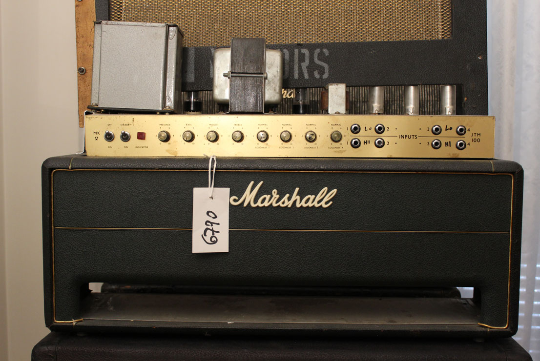 1966_Marshall-JTM-100-super-amplifier-100W-s-6790-–-owned-by-Motors